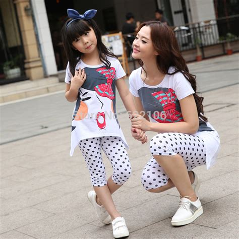 mommy and me outfits matching mother daughter clothing aliexpress com buy matching mother daughter clothes 2016