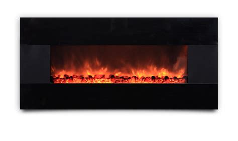 ambionair led wall mounted fireplace ef 1100 hbm