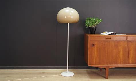 vintage floor lamp danish design   design market