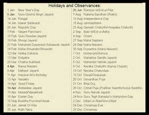 2018 Calendar With Holidays And Observances 2017 Calendar Holidays And Observances