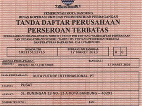 contoh dokumen aspek pendirian perusahaan faried