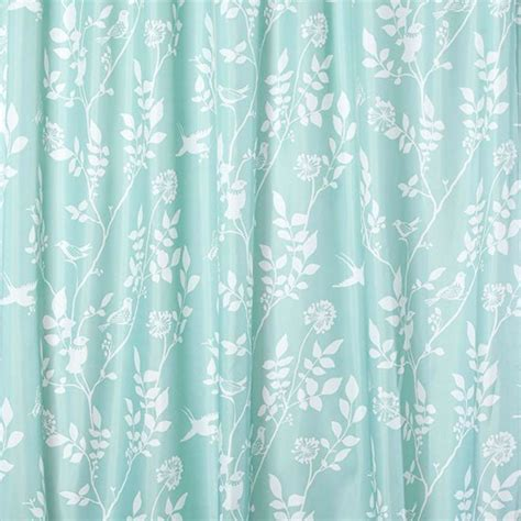 bird print curtains debenhams turquoise bird print shower curtain best