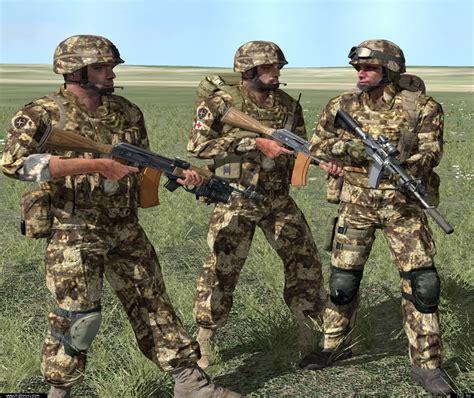 modern nogova army dryland cammo units armaholic