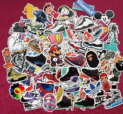 doodle motorcycle single sticker car styling home decor doodle laptop