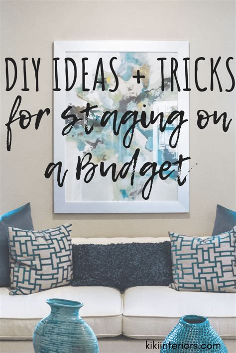 diy home staging ideas on a budget home staging archives interiorsbykiki