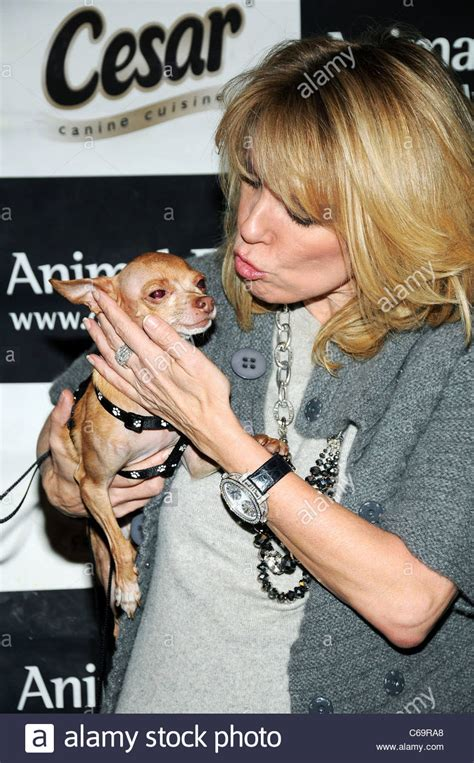 puppy singer ramona singer real of new york city in attendance for stock photo royalty
