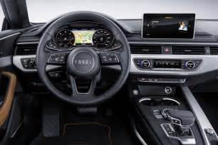 Audi S5 Tech Specs 2017 New Audi A5 S5 Technical Specifications Images Car