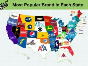 us map by brand brandchannel trends snapshot of most popular us