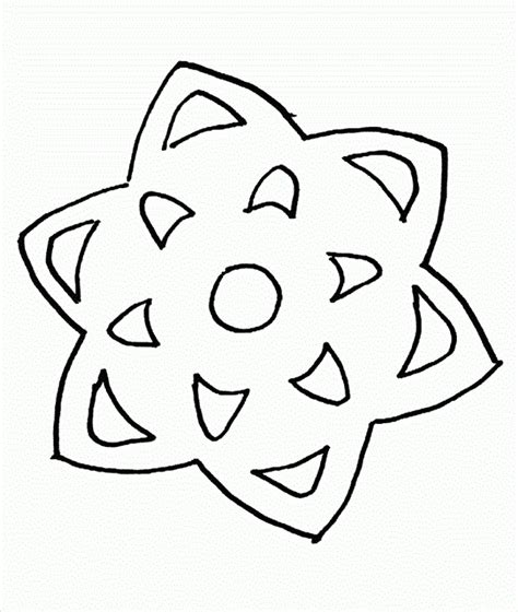 blank snowflake coloring page free printable snowflakes az coloring pages