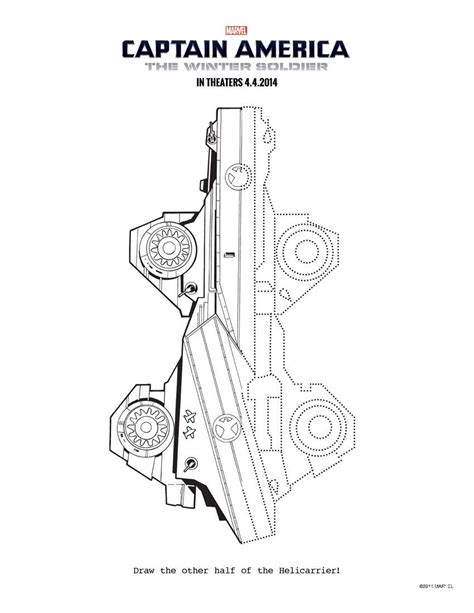 Captain America The Winter Soldier Printable Activity Captain America Civil War Coloring Pages