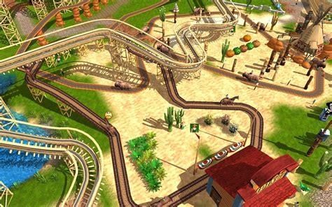 theme park game online adventure park brings the theme park mogul genre back
