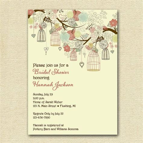 customized wedding shower invitations unique wedding invitation wording wedding invitation