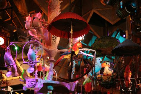 disney tiki room the 5 best places to stay cool and seated at disney world s magic kingdom travel lists
