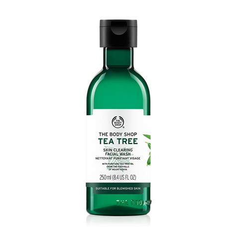 Tea Tree Gel The Shop the shop tea tree skin clearing wash 250 ml buy