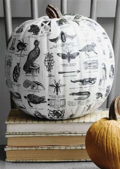 Decoupage Pumpkin - my 5 favorite pumpkin decorating ideas the decorologist
