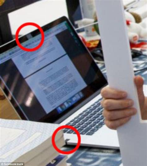 facebook ceo mark zuckerberg covers his laptop camera with