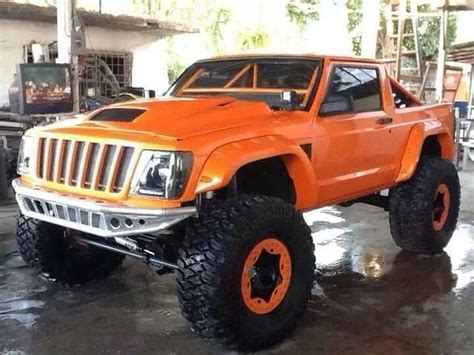 jeep cherokee orange jeep cherokee xj quot commanche quot build modified jeep