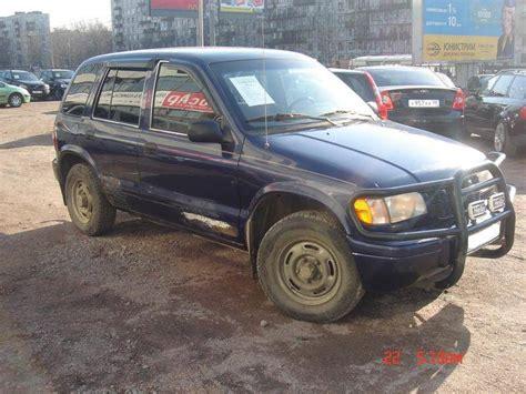 1999 Kia Sportage For Sale 1999 Kia Sportage Pics 2 0 Gasoline Automatic For Sale