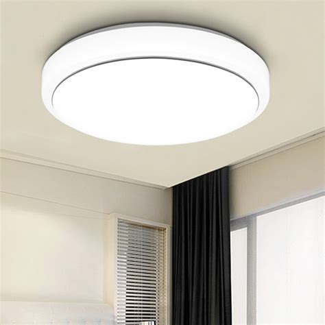 Kitchen Led Light Fixtures Modern Bedroom 18w Led Ceiling Light Pendant L Flush Mount Kitchen Fixture Us Ebay