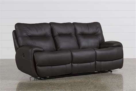 living spaces recliner sofa oliver graphite power reclining sofa living spaces