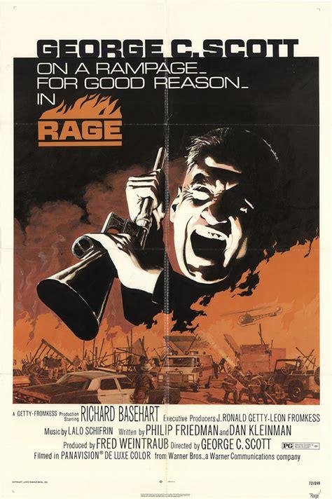 Rage Documentary Rage 1972 Original Poster Fff 11757 Fff Posters