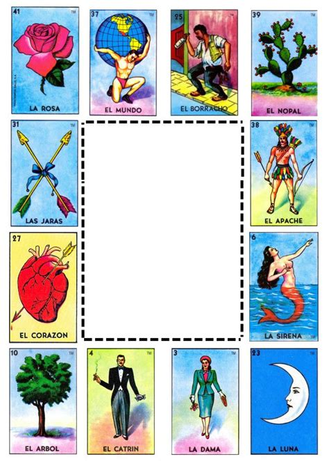 loteria template loteria template 28 images mexican loteria invitations