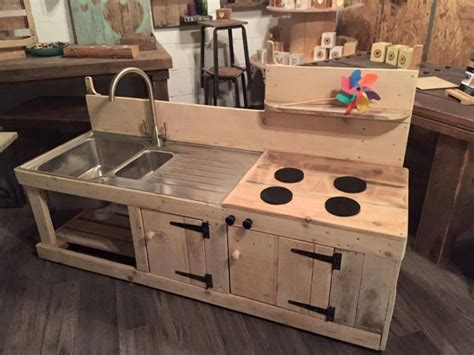 kids kitchen ideas sensational pallet kitchen for kids pallet ideas