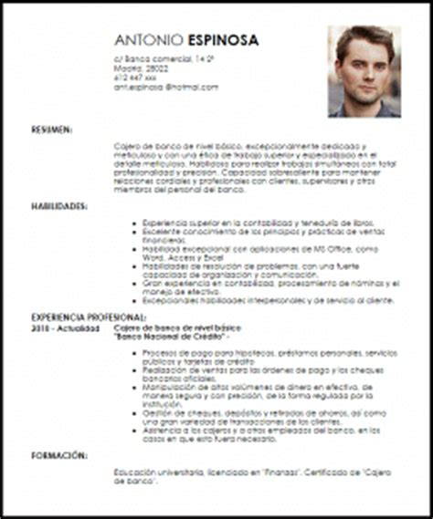 Modelo De Curriculum Vitae Basico En Word Modelos De Curriculum 100 More Photos