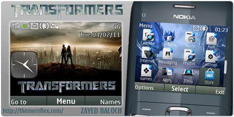 themes untuk nokia x2 01 transformers theme for nokia c3 x2 01 themereflex