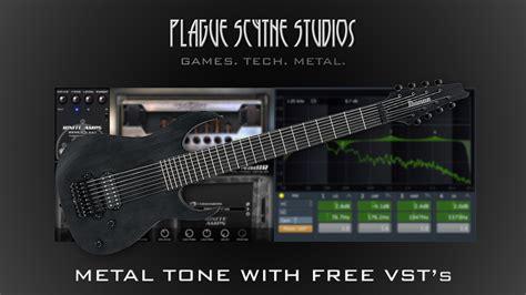 tutorial guitar metal modern metal 8 string guitar tone w free vst s tutorial