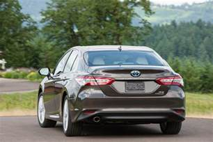 Toyota Camry Mpg 2018 Toyota Camry Hybrid Review Not Your S Toaster