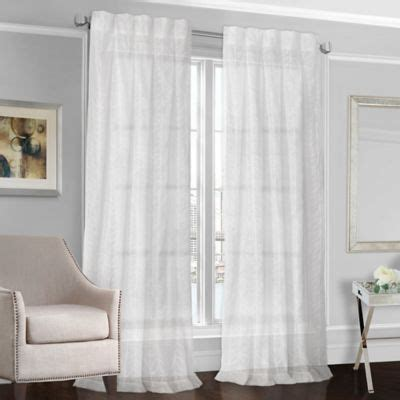 white back tab curtain panels buy back tab sheer panels from bed bath beyond