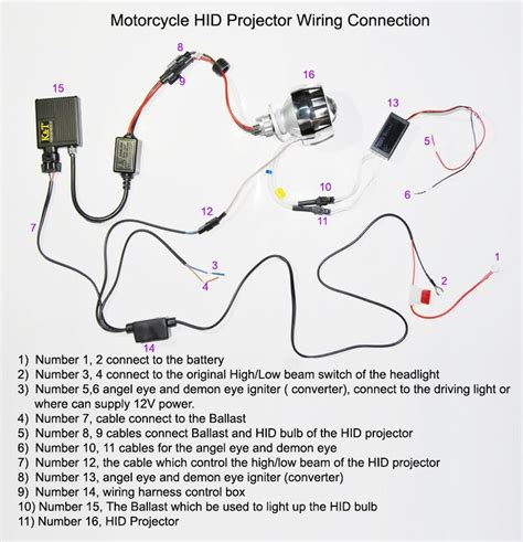 halo headlight wiring diagram wiring diagram with
