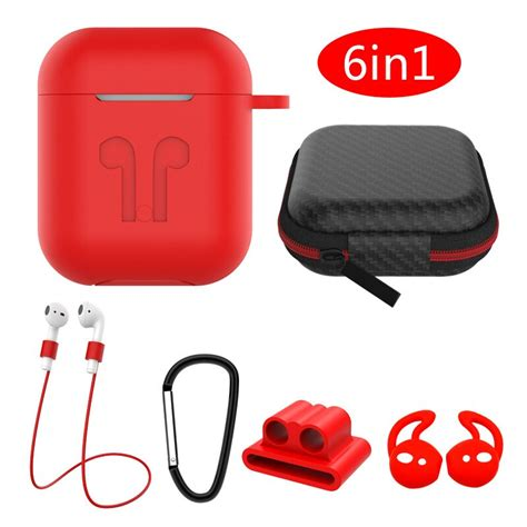airpods accessories kits protective silicone cover
