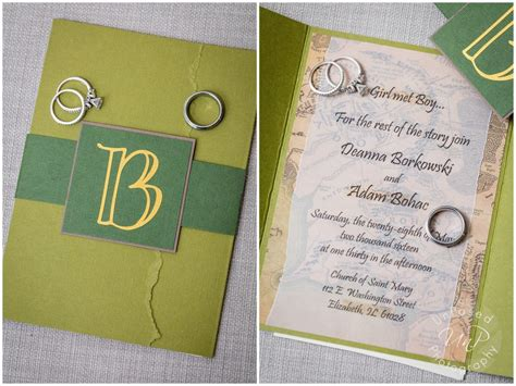 Lord Of The Rings Wedding Invitation Template