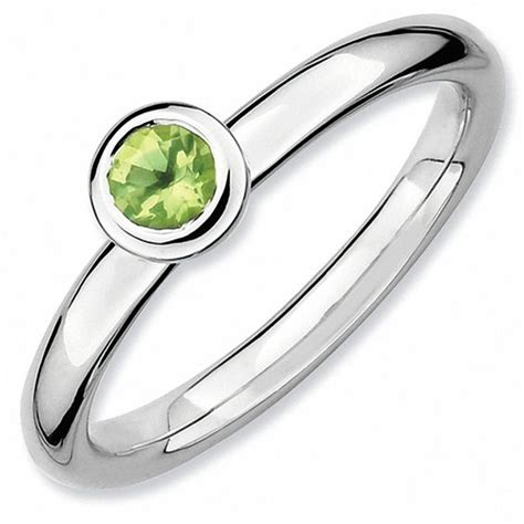 rings1s profile on imagefapcom stackable expressions peridot solitaire low profile ring