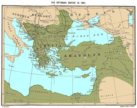 The Ottoman Empire Maps
