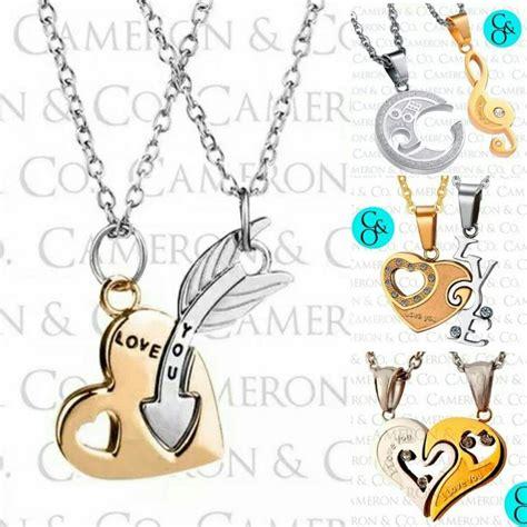 modelos de cadenas para parejas dijes para enamorados parejas en titanio cadenas posot class