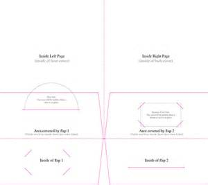 Sle Of Business Card Template by Pocket Folder Templates Central Printing