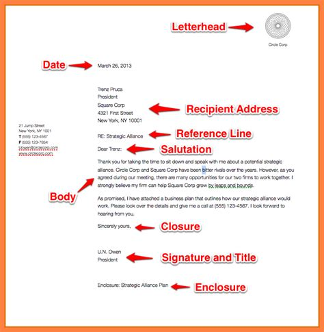 10 exle of simple business letter bussines 2017