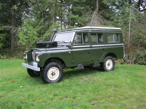 land rover safari for sale 1971 land rover series iia safari station wagon