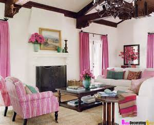 Girly Curtains Ideas 10 Amazing Pink Living Room Interior Design Ideas Https Interioridea Net