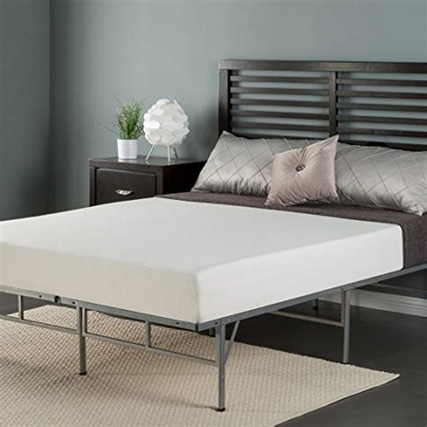 Sleep Master Bed Frame Sleep Master 8 Inch Memory Foam Mattress And Easy To Assemble Smart Platform Metal Bed Frame