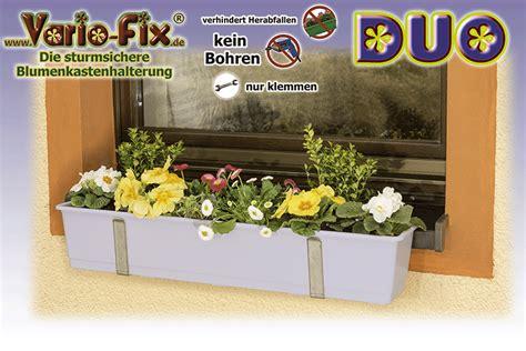 Blumenkasten Fensterbank Aussen by Vario Fix Duo 12 Vario Fix