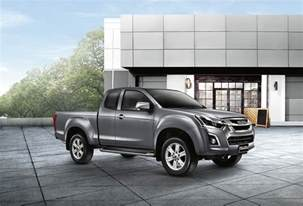 Isuzu Thai 2016 Isuzu D Max Facelift Front Three Quarter Launched