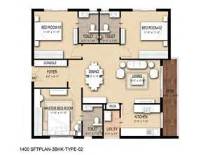 3bhk House Plan by Overview Trident Galaxy At Bhubaneswar Trident