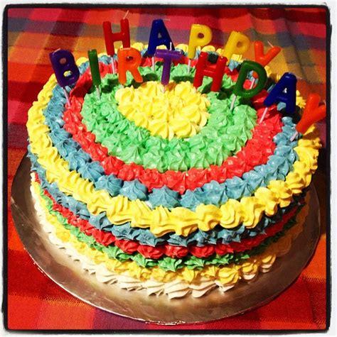 colorful birthday cakes colorful birthday cake aleycakes