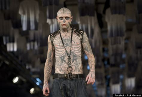 man with full body zombie tattoo head to toe body tattoos make clothing optional huffpost