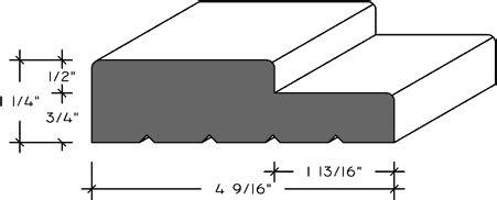 Distinctive Wood Designs Item J409s34 1 1 4 Quot X 4 9