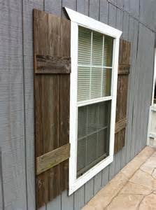 Exterior Wood Shutters Diy Shutters For Interior Or Exterior Pallet Furniture Plans